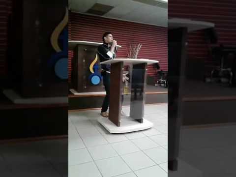 Predicando El Joven Evang. Jose M. Reyes Alvarez- Preparandonos Para El Reto!!