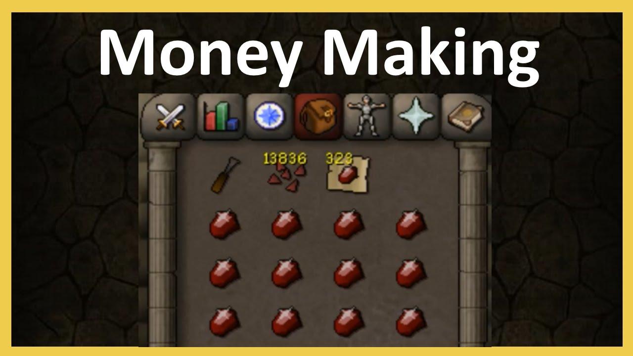 AFK :: Money Making :: 1 HOUR of FLETCHING BOLT TIPS - OSRS