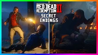 The SECRET Endings Of Red Dead Redemption 2 That You've Likely NEVER Seen Before! (ALL RDR2 Endings)