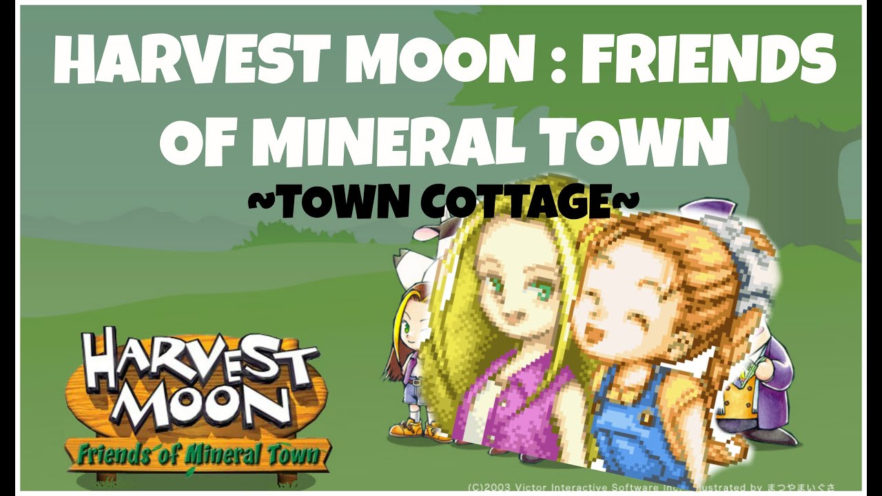 download harvest moon more friends of mineral town gba rom