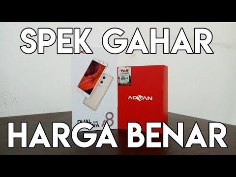 ADVAN A8 ANDROID SPEK TINGGI DENGAN HARGA RENDAH - UNBOXING - INDONESIA - BUKA KOTAK #2