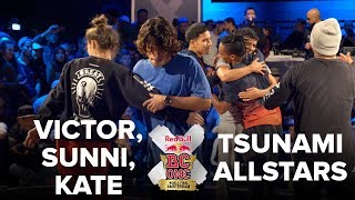 VICTOR + SUNNI + KATE vs TSUNAMI ALLSTARS / FINAL BATTLE / RED BULL BC ONE 2017 3VS3