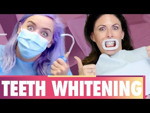 Does Professional Teeth Whitening WORK?! (Beauty Trippin)