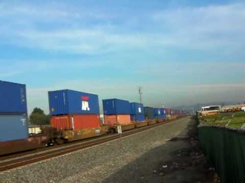 The Longest Union Pacific Train - 1/10/10
