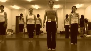 Thank you, Mikiko, from Japan. A great, simple side leaning lunge s...