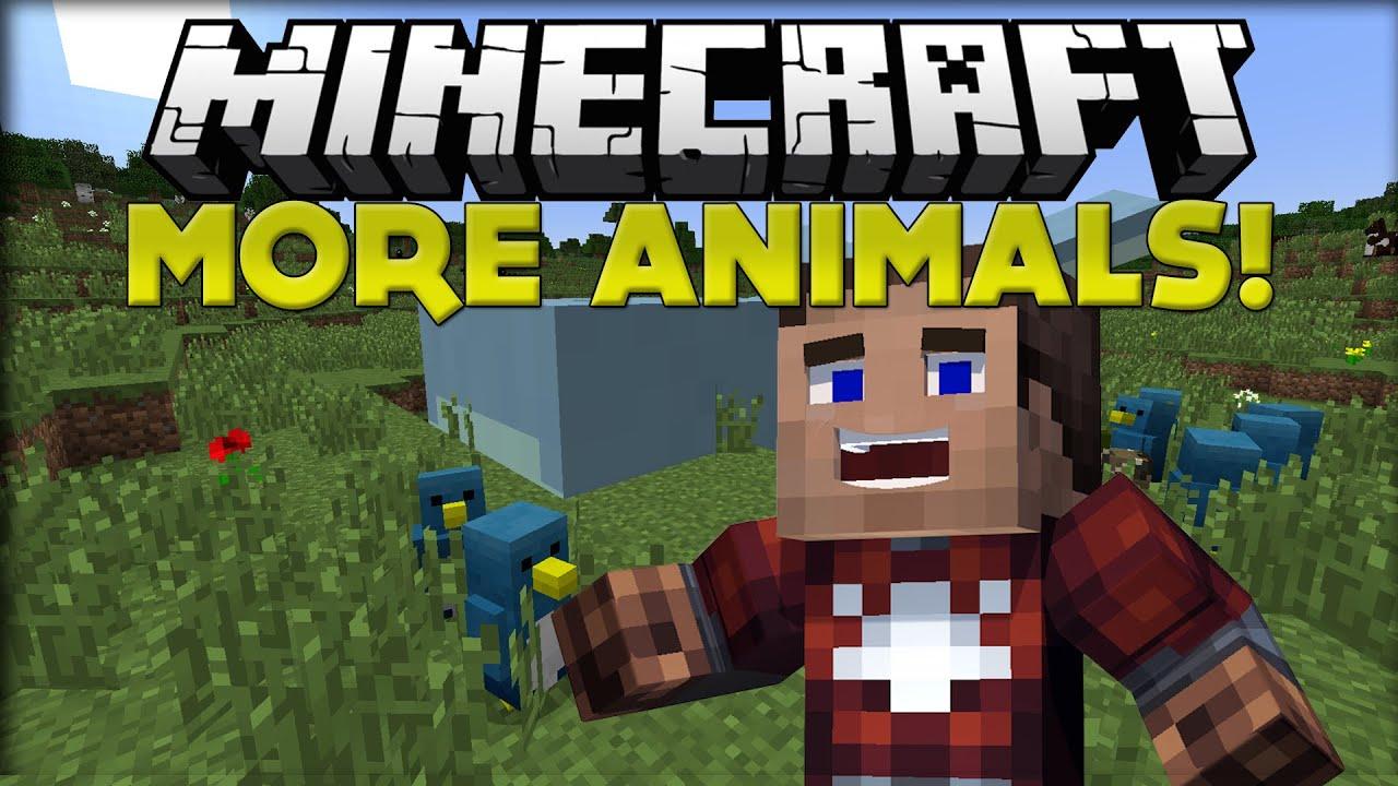 Minecraft Mods   Minecraft Animals+ Mod (Minecraft Mod ...