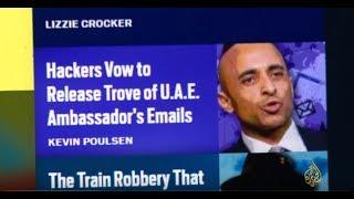 ماذا تقول تسريبات بريد سفير الإمارات لدى واشنطن؟