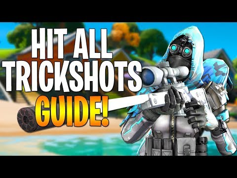 How To Hit Every TRICKSHOT / NO SCOPE In Fortnite Chapter 2! ~ Trickshot Guide