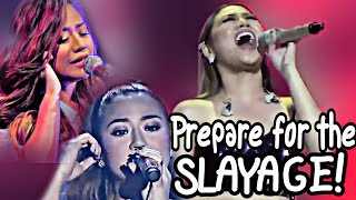 When Morissette Amon Takes her EARPIECE Out, Prepare for the SLAYAGE!