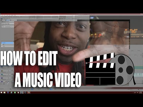 HOW TO EDIT MUSIC VIDEOS TUTORIAL!!!!! | SONY VEGAS 14
