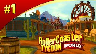 Rollercoaster Tycoon World #1 - GAAF SPEL!