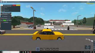 [Roblox] Firestone State Patrol, Pursuit Takedown with Spike Strips, Suspect TASED!