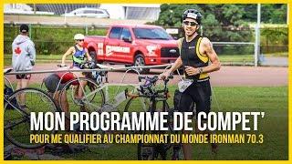 Pour se qualifier au championnat du monde Ironman 70.3 il faut fair...
