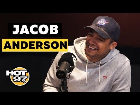 "An EPIC 'Game Of Thrones' Convo w/ ""Grey Worm"" AKA Jacob Anderson"