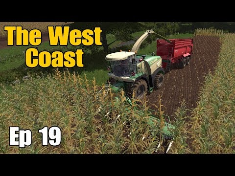 Let's Play Farming Simulator 17 PS4: The West Coast, Ep 19