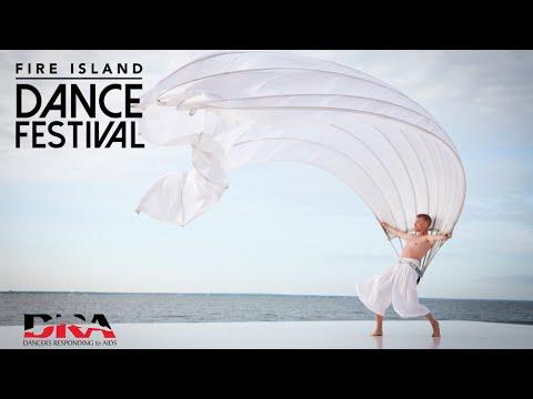 MOMIX Man Fan - Fire Island Dance Festival