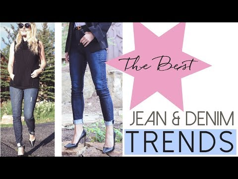 The Best Jean & Denim Trends  Fashion Over 40
