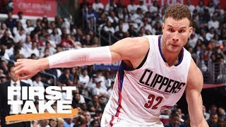 Stephen A. Smith Says Jerry West Should Trade Blake Griffin | First Take | June 20, 2017