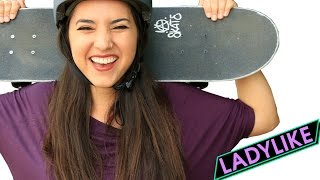 "Women Learn To Skateboard For 30 Days • Ladylike(Everyone belongs here."" Check out more awesome BuzzFeedYellow videos! http://bit.ly/YTbuzzfeedyellow MUSIC And The Crowd Screams Music In Ya Soul ..., 2016-04-14T00:00:00.000Z)"