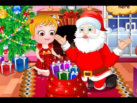 Baby Hazel Games -  Baby Hazel Christmas Surprise  - Play and study English