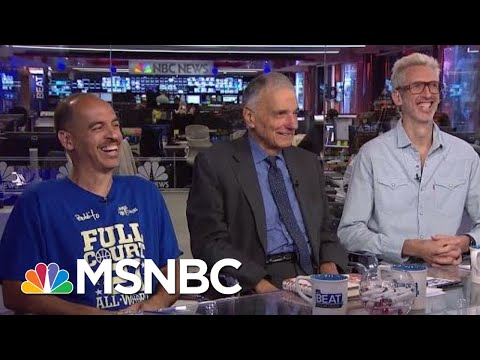 Watch Ralph Nader's Zany Appearance With Two Rap DJs | The Beat With Ari Melber | MSNBC