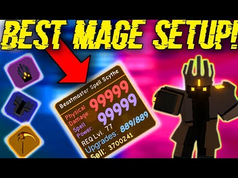 *NEW* BEST MAGE BUILD IN KINGS CASTLE! (ROBLOX DUNGEON QUEST)