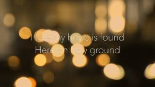 At the cross - Chris Tomlin - Piano version (Karaoke with lyrics)