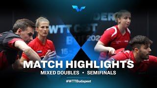 Kirill Skachkov/Olga Vorobeva vs Nandor Ecseki/Dora Madarasz | WTT Contender Budapest 2021 (1/2)