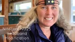 Модифікація тримач для ліхтарів Nitecore NU25 фари