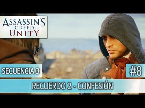 Assassin's Creed Unity - Guia Walkthrough - Secuencia 3 - Confesión al 100%   Español