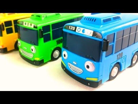 Тайо маленький автобус - Изучаем время суток
