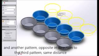 Solidworks 2013, Tutorial To Create A Muffin Tray, 3d Printing Ready,, Hd