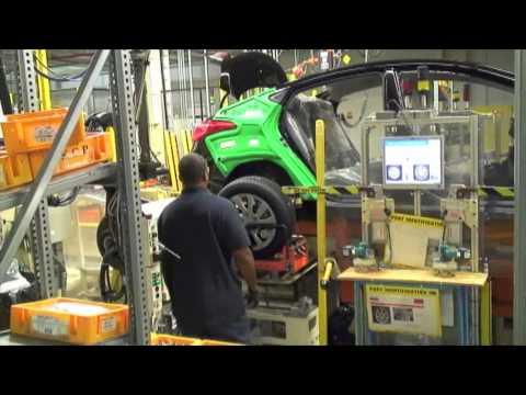 2011 Hyundai Elantra, HMMA Plant Tour, 200 Robots.