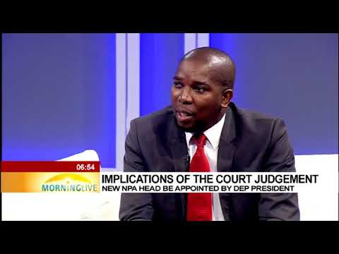 Implications of the court judgement | New NPA head to be appointed by Dep President