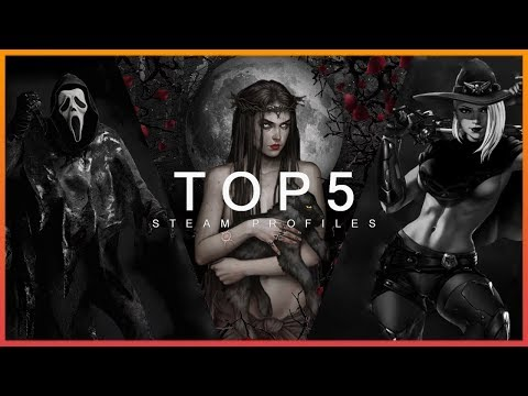 TOP 5 STEAM PROFILE PREVIEW - COOL ARTWORKS & ANIMATIONS Halloween 2019 #7