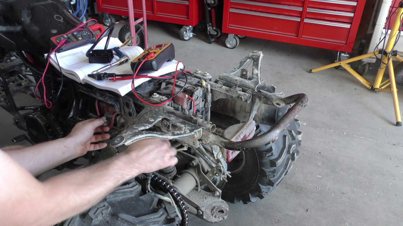 hight resolution of replacing the voltage regulator on the honda fourtrax 200sx youtubereplacing the voltage regulator on the honda