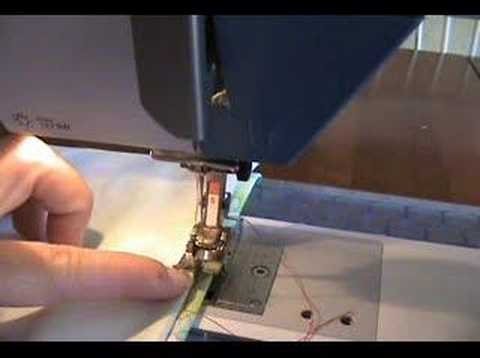 How To Sew A Blind Hem Stitch YouTube Delectable How To Hemstitch On A Sewing Machine