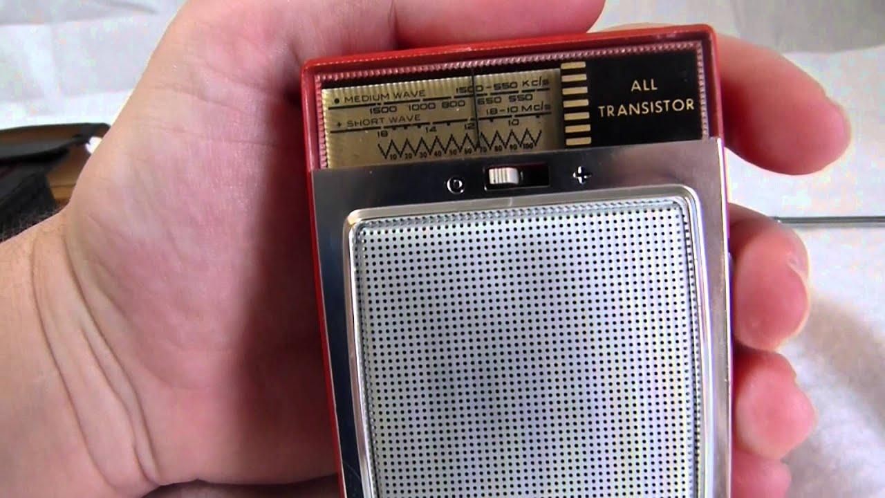 Philips L0x25t  00l Am-sw Transistor Radio Circa Early 1960 U0026 39 S