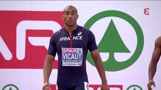 Jimmy Vicaut en bronze sur 100m, Churandy Martina sacré
