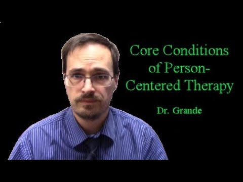 core conditions of person centred counselling