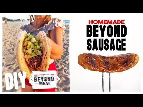 DIY, Homemade Beyond Sausage Recipe+The Best Vegan/Vegetarian Sausage(gluten free option)