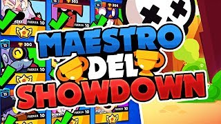 SOY LITERALMENTE IMPARABLE ¡¡MAESTRO DEL SHOWDOWN!! | Brawl Stars