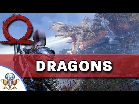 God of War Dragons - Dangerous Skies Trophy - Freeing All 3 Dragons