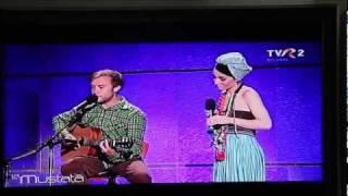 Luiza Zan & Adam Ableman - Mellow Yellow/Route 66 on La Mustata TVR2