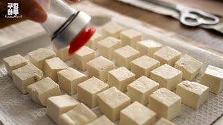豆腐ポップコーン|쿠킹하루 Cooking Haruさんのレシピ書き起こし