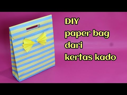 Didalam video diatas menjelaskan bagaimana membuat paper bag dari kertas kado. ikuti terus cara memb.