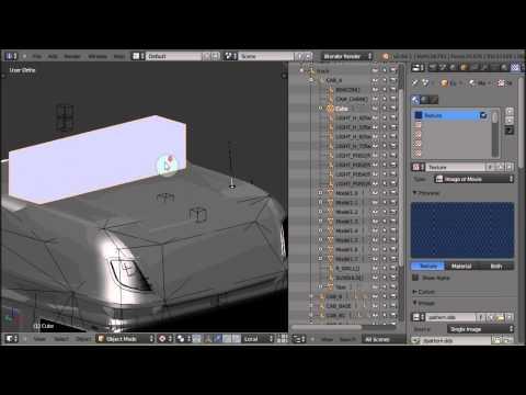 Blender2SCS Tut - #4 Create New SCS Material & Texture