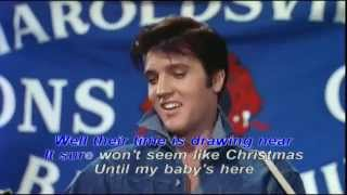 SANTA BRING MY BABY BACK TO ME LYRICS-ELVIS PRESPLEY