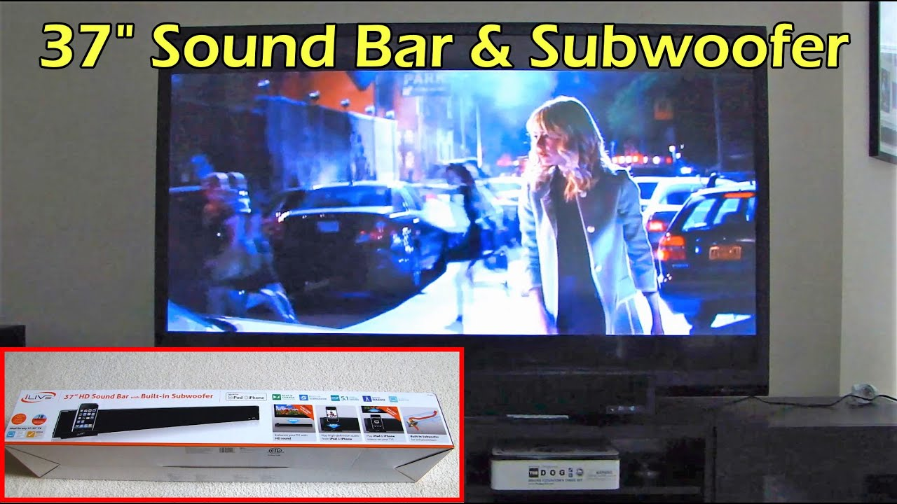 unboxing and review of ilive 37 hd sound bar itp280b youtube rh youtube com Ilive Clock Radio Manual ilive sound bar manual itp280b