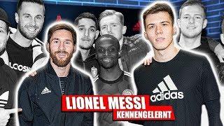 Ich habe MESSI kennengelernt | Fußball-Lifestyle-Vlog #01 😍⚽️